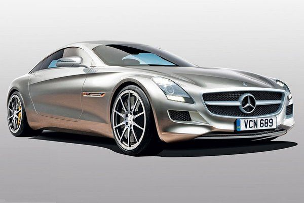 Mercedes Benz SLC, a smaller version of SLS AMG is slated to go into production …