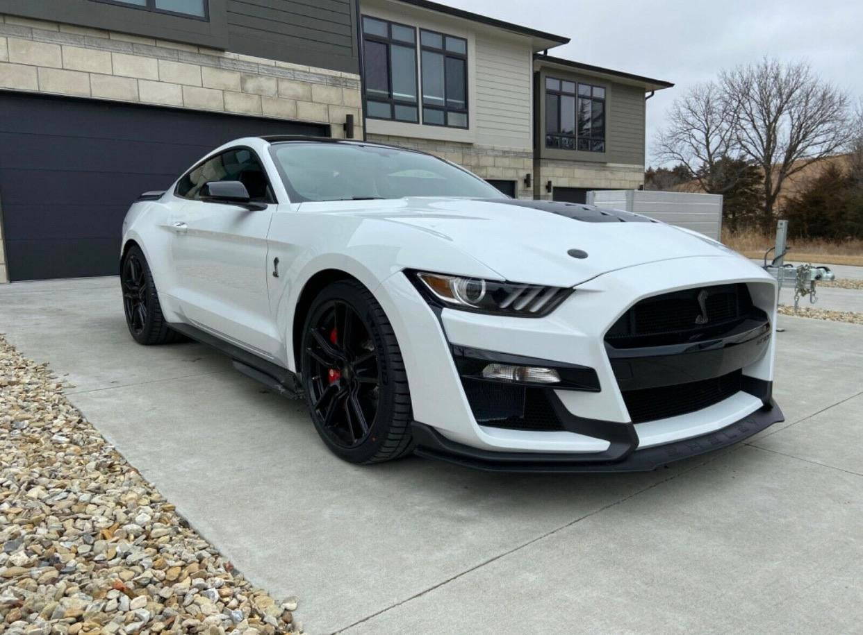 2020 Ford Mustang GT500 via eBay Motors