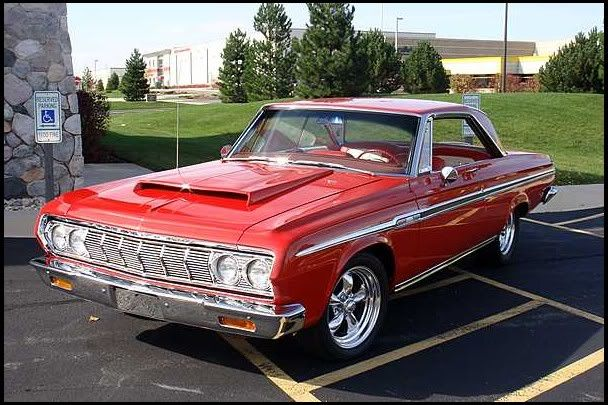 1964 Plymouth Sport Fury 2-Door Hardtop 426 HEMI, 4-Speed