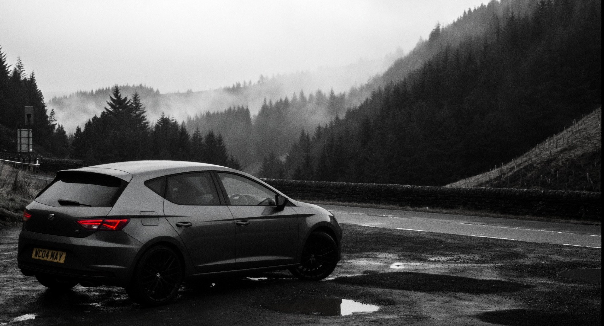 My Seat Leon Cupra 290 on Snake Pass UK