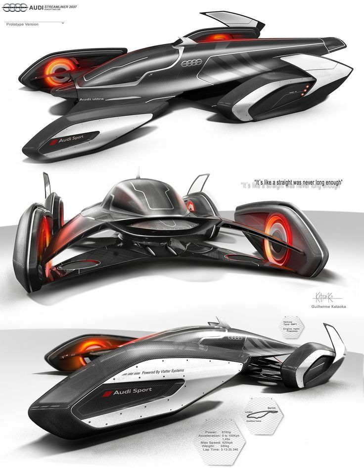 Audi Streamliner 2037 on Behance: