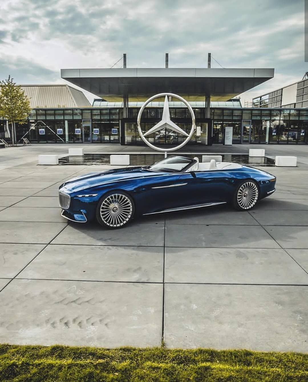"Arab | Luxury | Lifestyle on Instagram: ""Maybach Vision 6 Cabrio? @fredericseemann #arabsupertoys"""