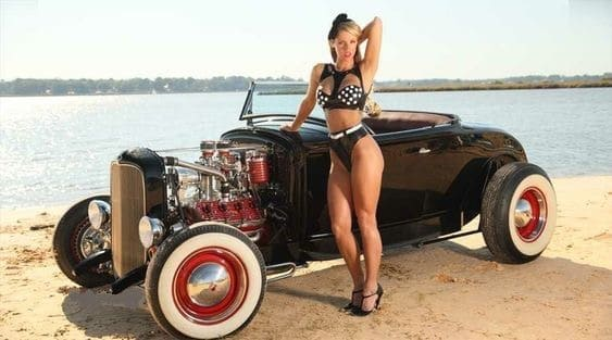 Girls and Hot Rods | AllCollectorCars.com