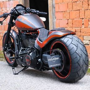 Awesome custom bike Harley Davidson FXDR 114 2019 Custombike by Cult-Werk #motor…