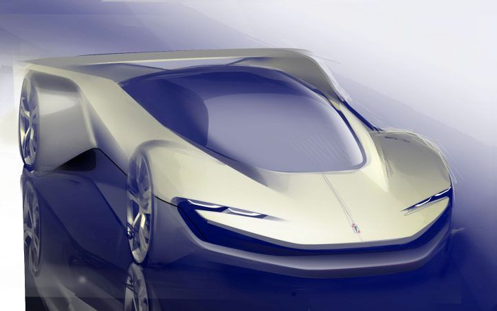 Pininfarina Concept Design Sketch by Francesco Binaggia