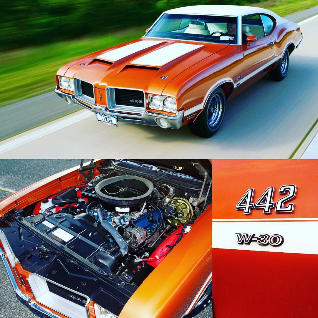 "Muscle Cars Fan on Instagram: ""1971 Oldsmobile 4-4-2 W-30 ——————————– #oldsmobile #chevrolet #pontiac #mopar #dodge #plymouth #ford #mercury #shelby…"""