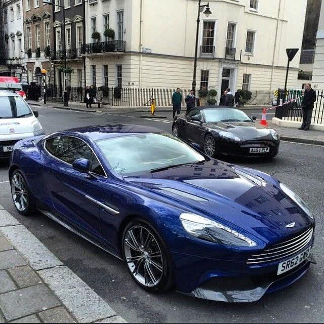 Aston Martin Vanquish ❥Pinterest: yarenak67
