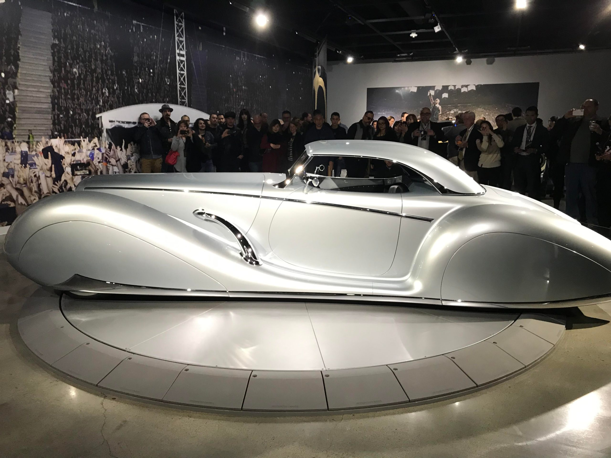James Hetfield's Aquarius car is a beauty! His collection is at the Petersen Auto Museum through November 2020