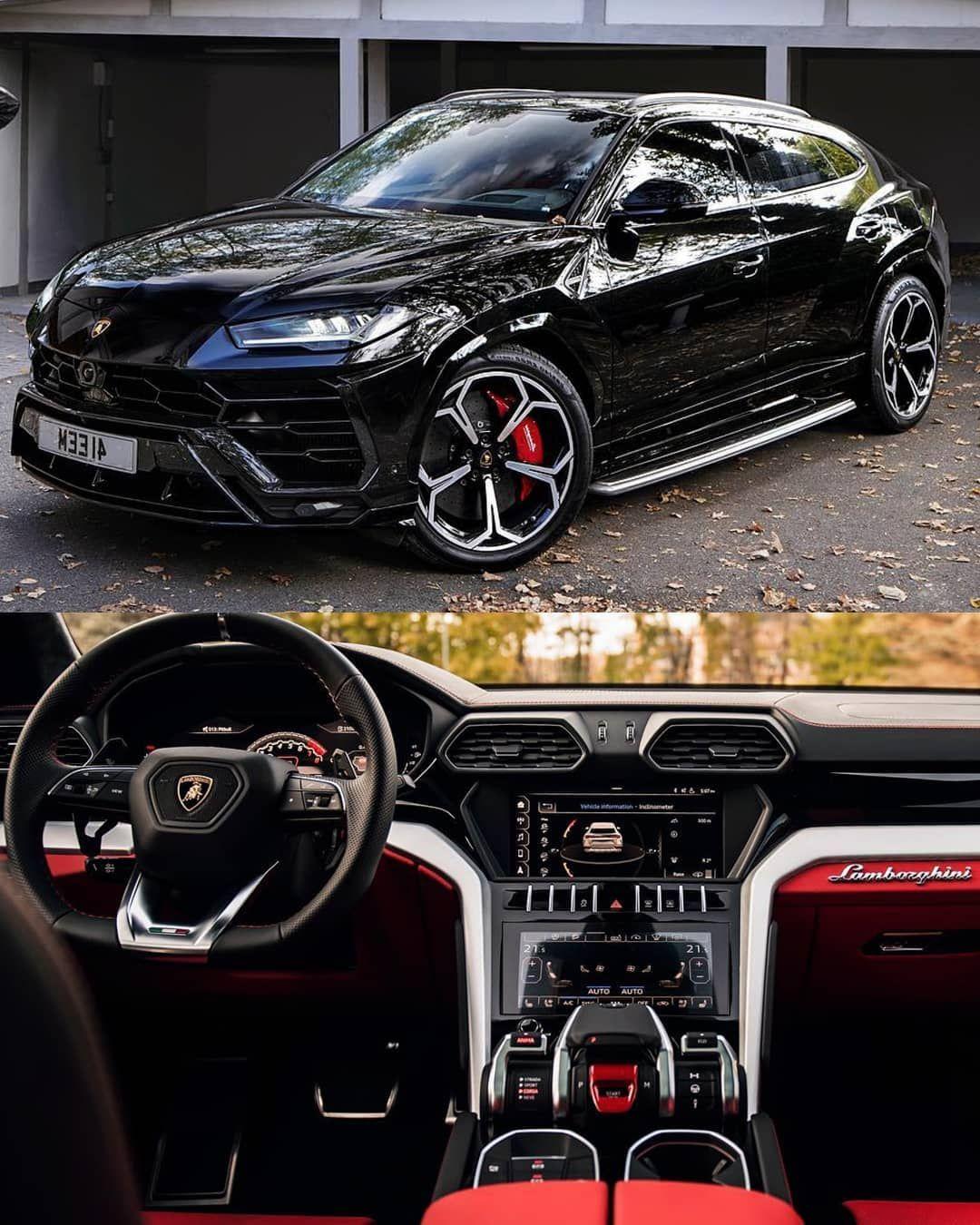 "👑 LUXURY IS A LIFESTYLE 👑 on Instagram: ""Lamborghini Urus 2019 🔥🔥 Black Edition & red n black interior 🔛🔝💯✔😋😍😍 👉 @rokenr 👈 👉 @tonybet 👈  #highbosslife #mercedesbenz #g63 #amg…"""