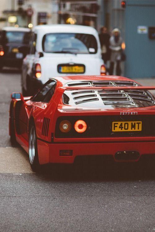 13 Ferarri F40 Cars Every Guy Dreams Of