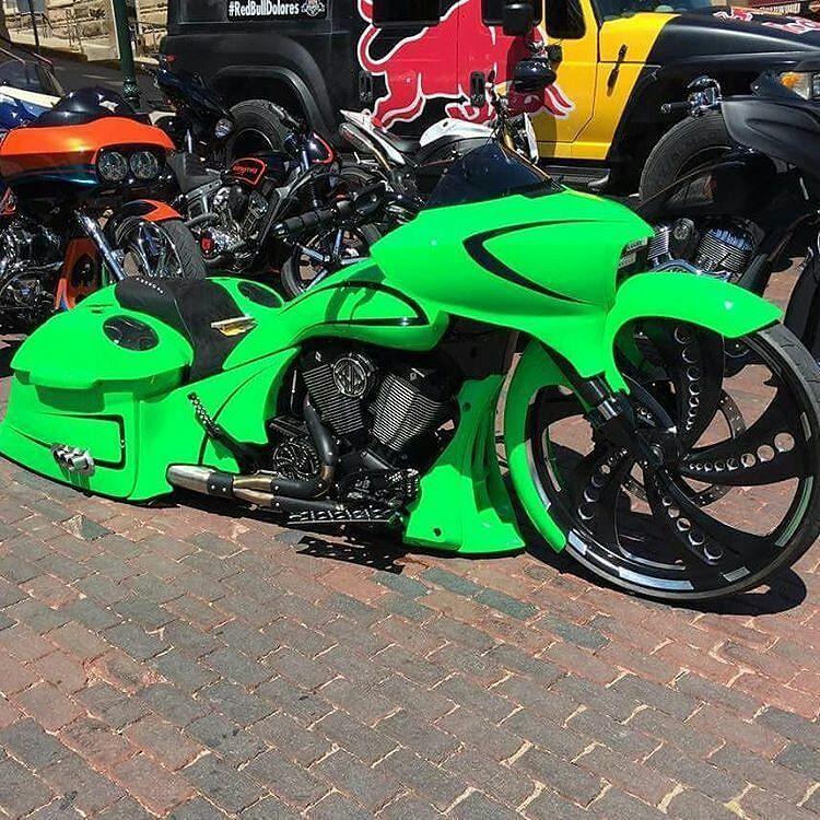 "Bagger Militia on Instagram: ""Follow us on snapchat @baggermilitia to see more bikes like @rusty_jones_customs new @victorybikes bagger #baggermilitia #militiaindustries"""