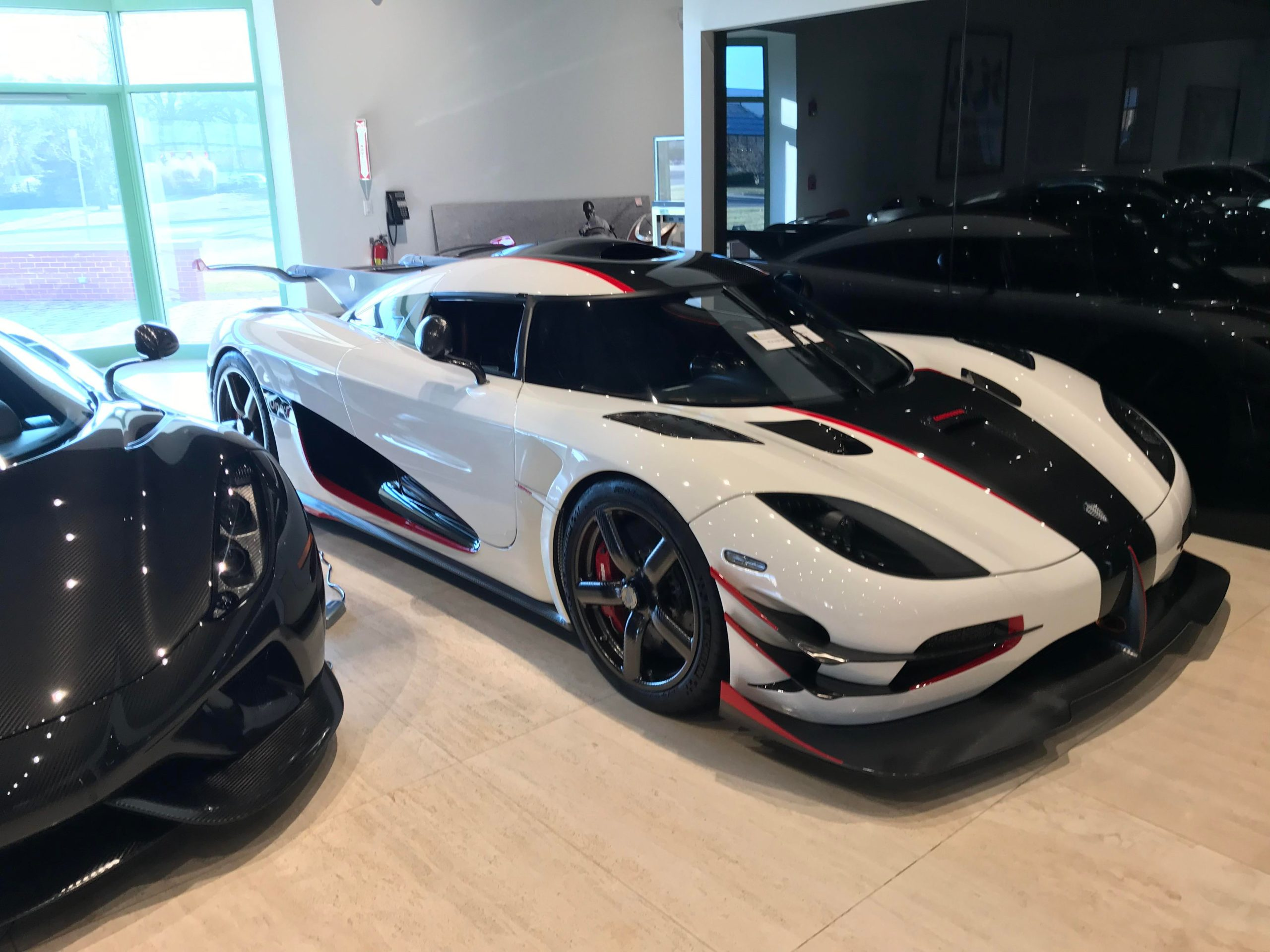 Koenigsegg One:1 at Ferrari Lake Forrest