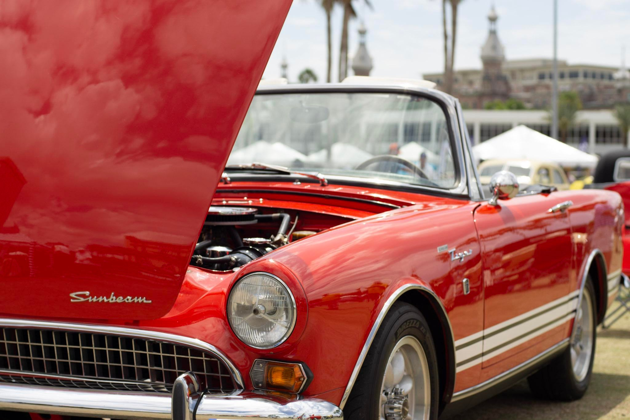 Sunbeam Tiger, Developed by Carroll Shelby and Ken Miles