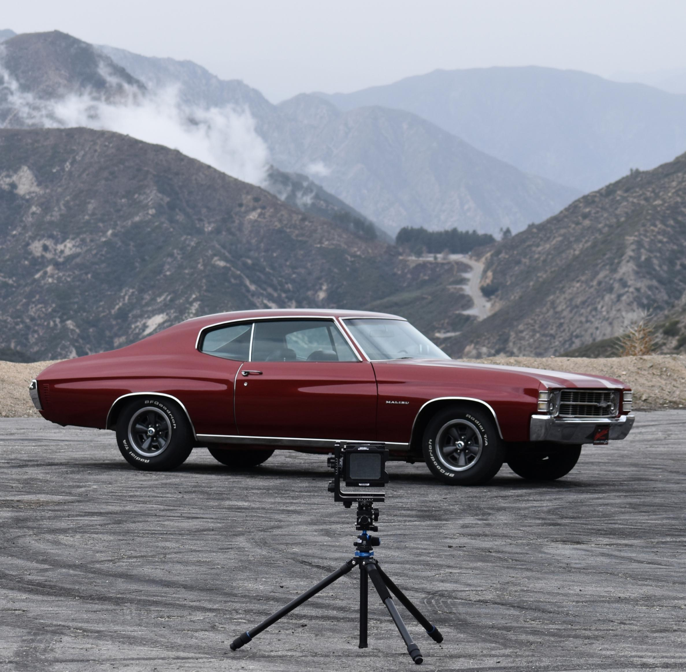 @Chevellecruiser is pretty popular with the old school methods out on the Angeles Crest Highway! Good old 71′ Chevelle