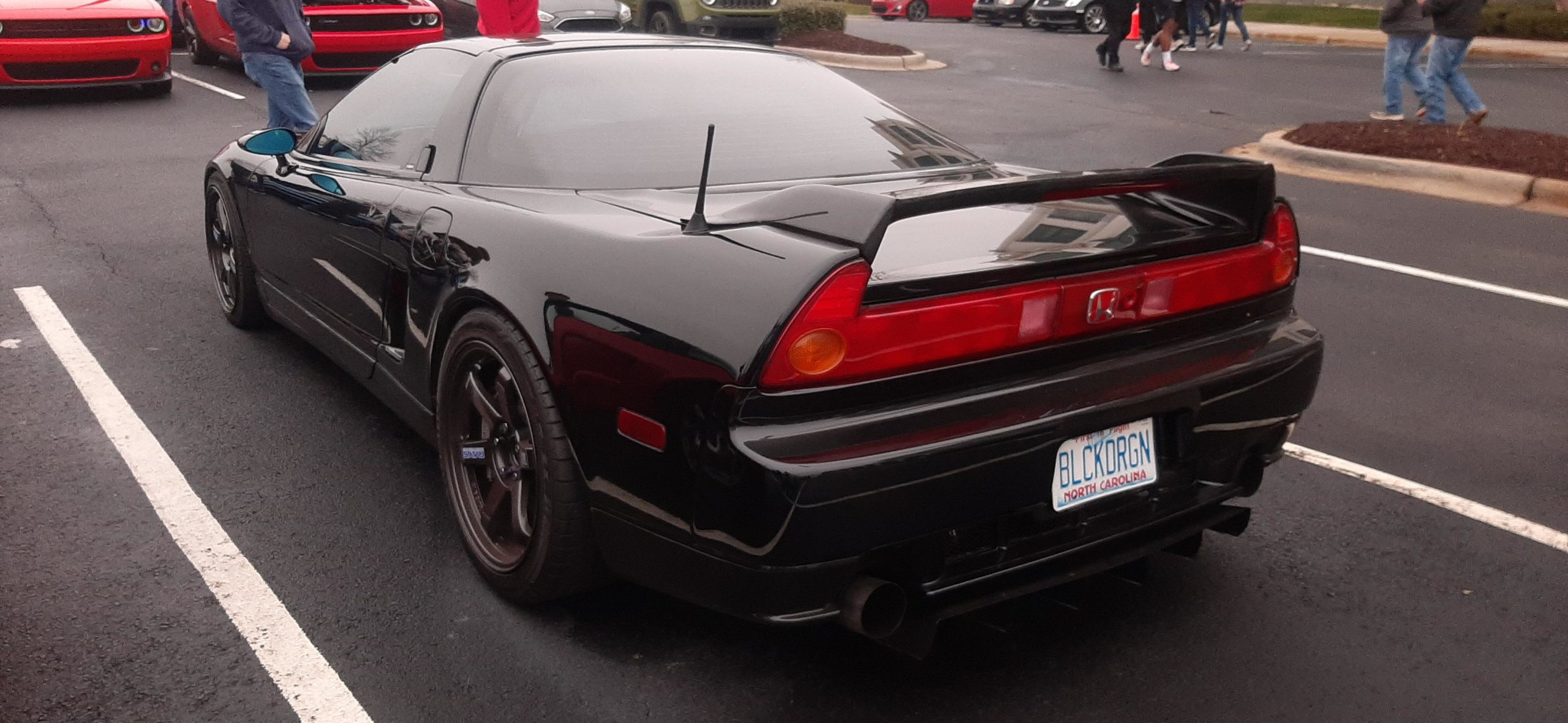 Honda NSX at Cars and Coffee, NC