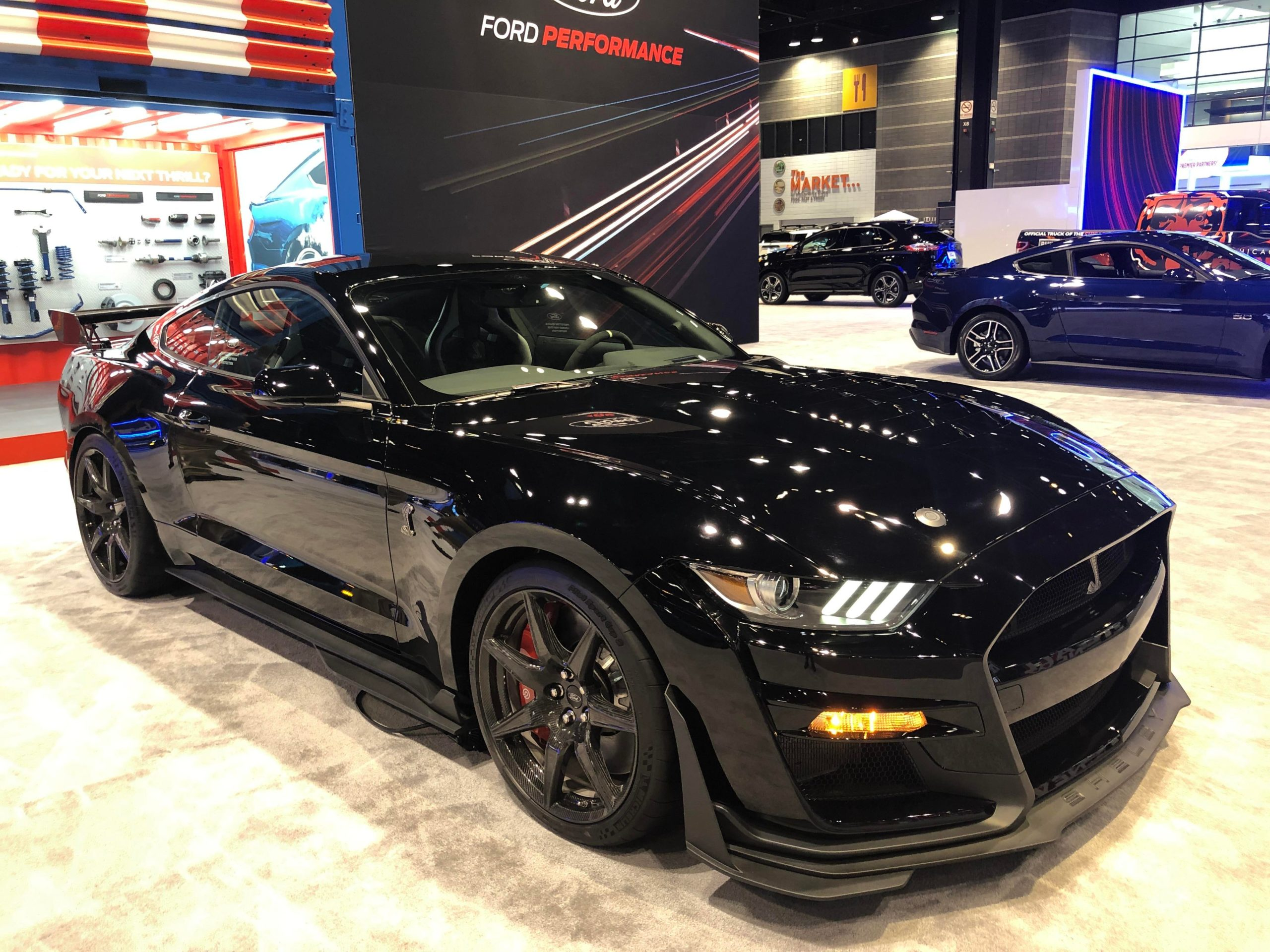 2020 gt500 at the Chicago Auto Show