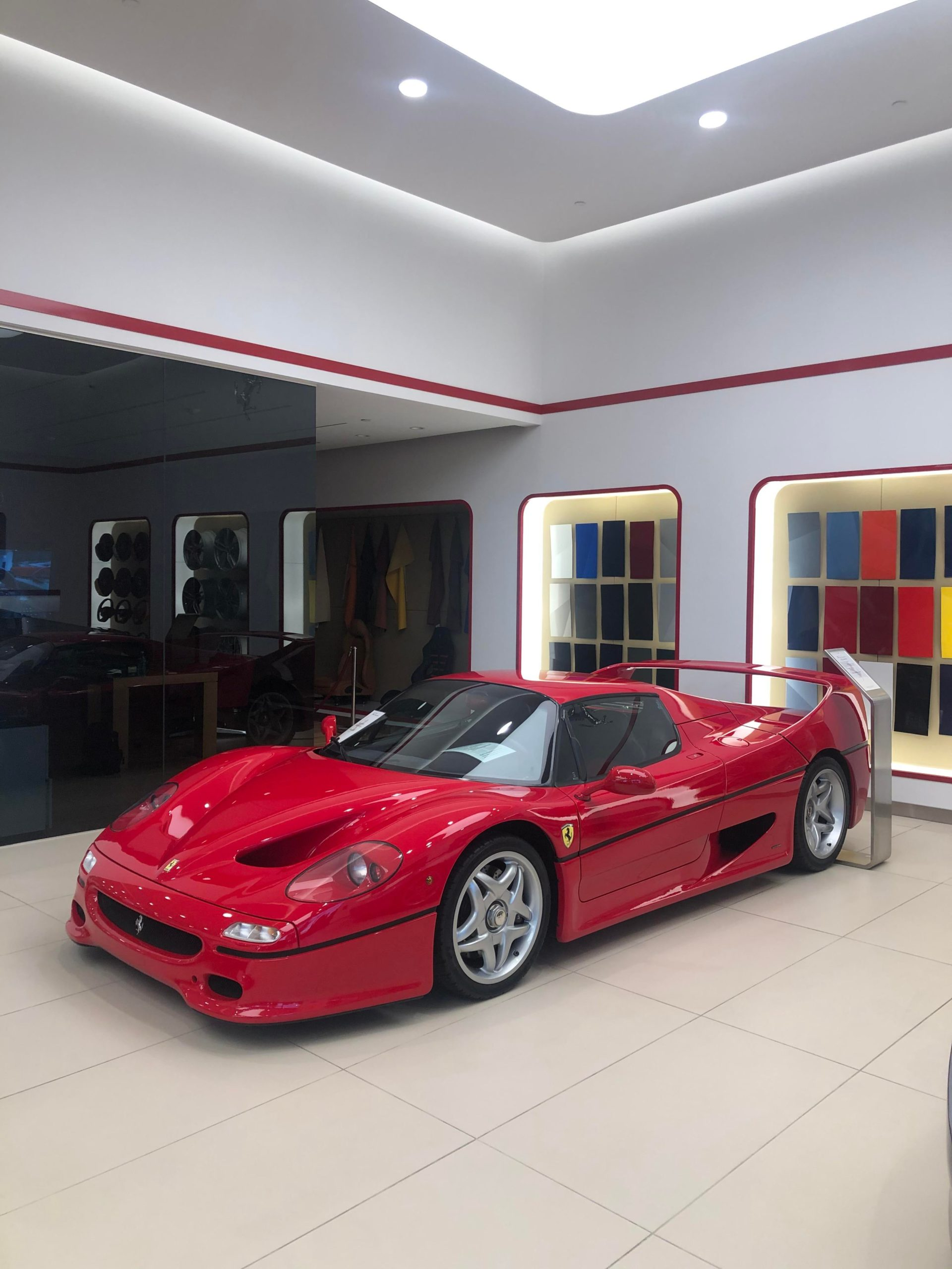 Ferrari F50. 1/349