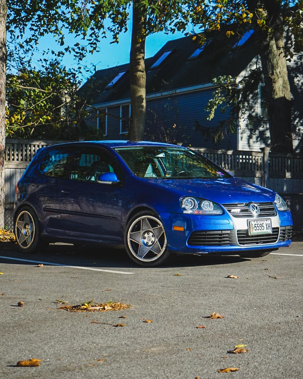 My dirty vw r32