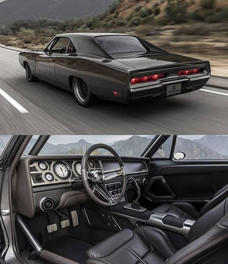1970 Dodge Charger Evolution by Speedkore. 966 hp from a 6.2L Supercharged Hemi. Carbon Fiber Body