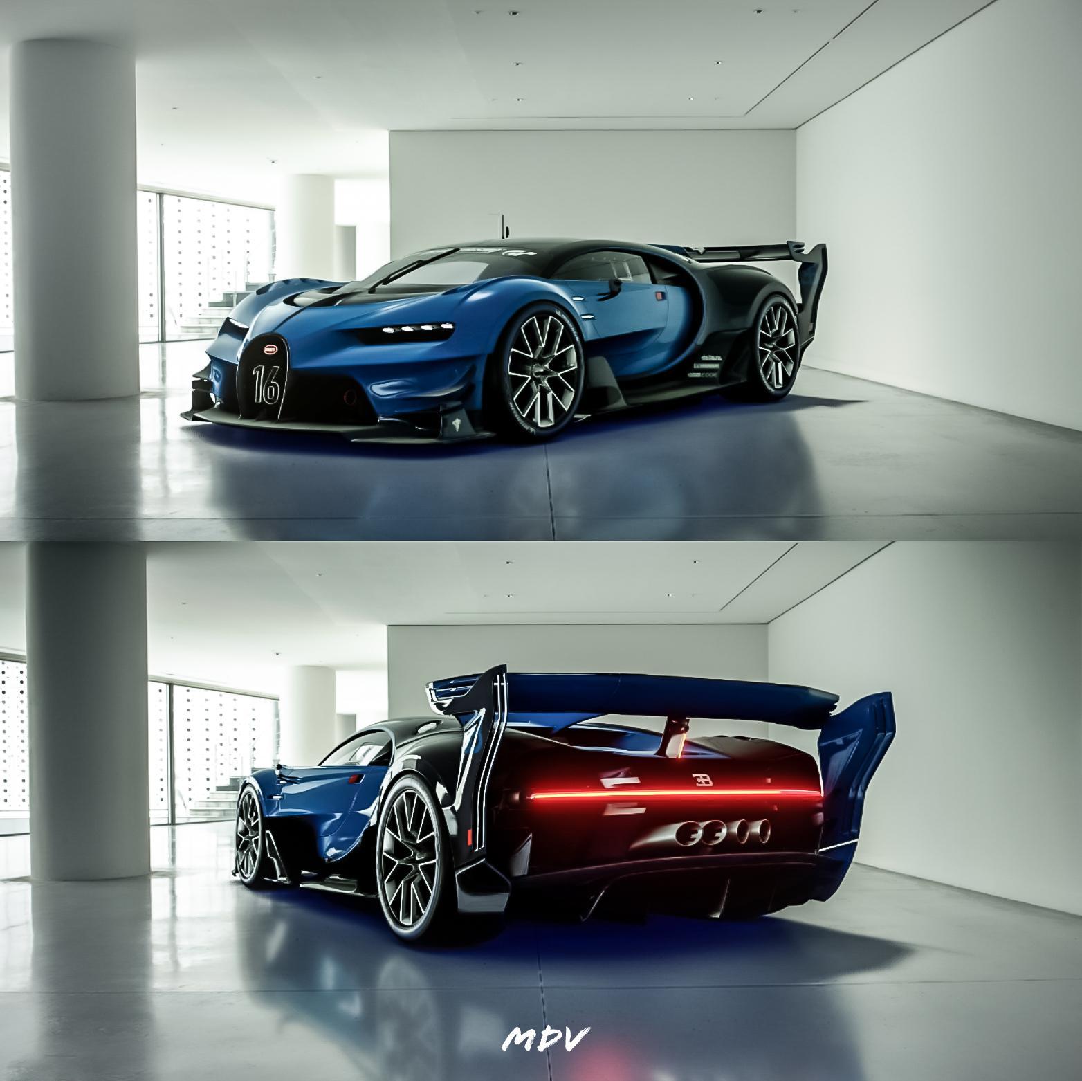 Bugatti VGT in a Japanese Museum