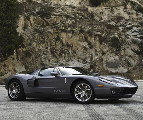 Gorgeous gray Ford GT