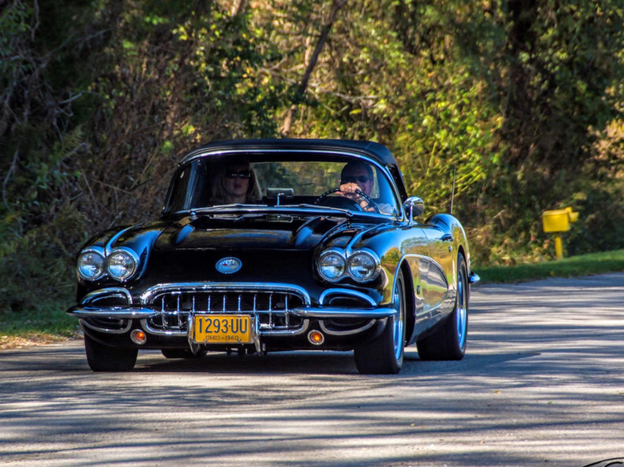 Legendary Black Corvette C1