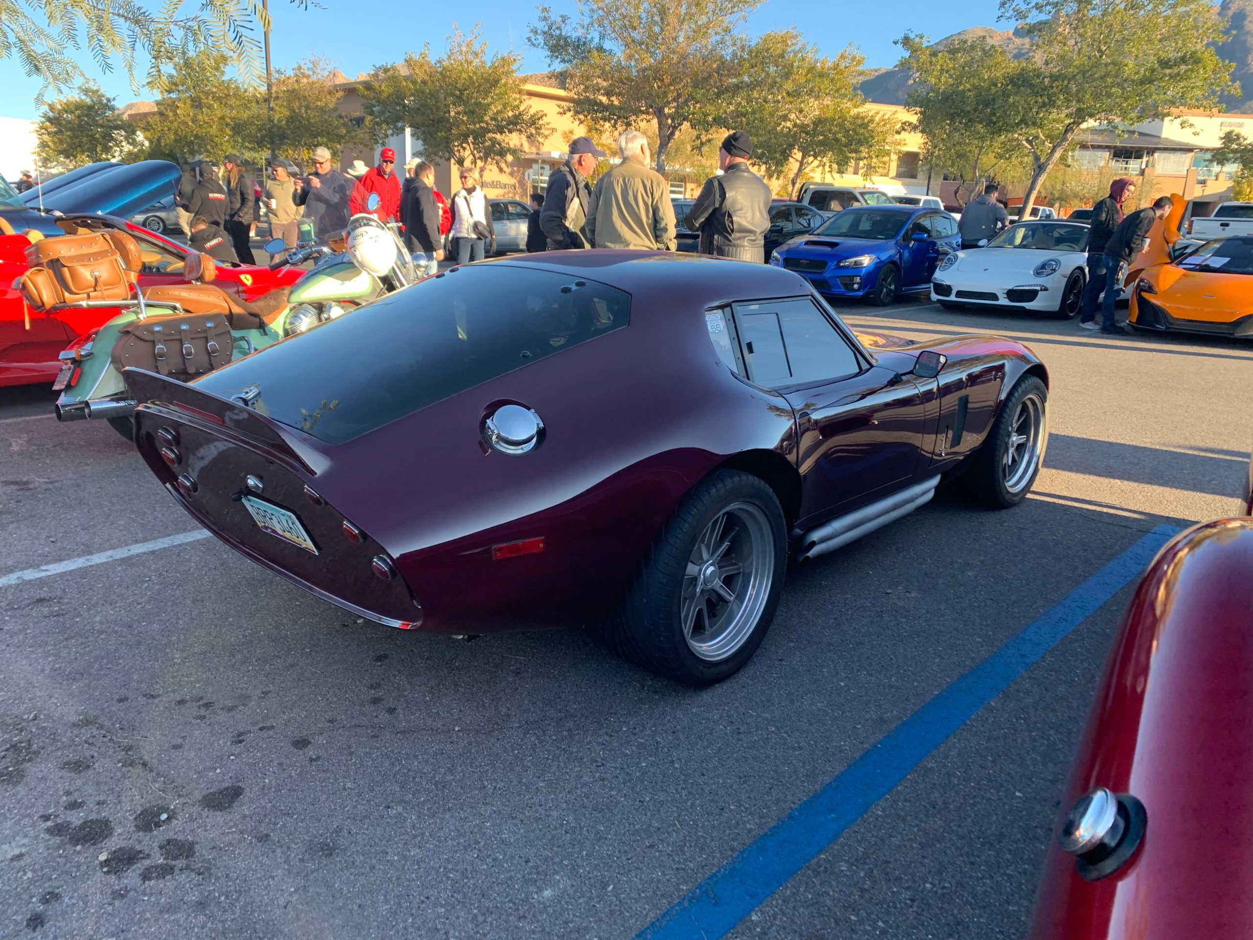Old 1964 Shelby Daytona Coupe found at my local Cars and Coffee meet!