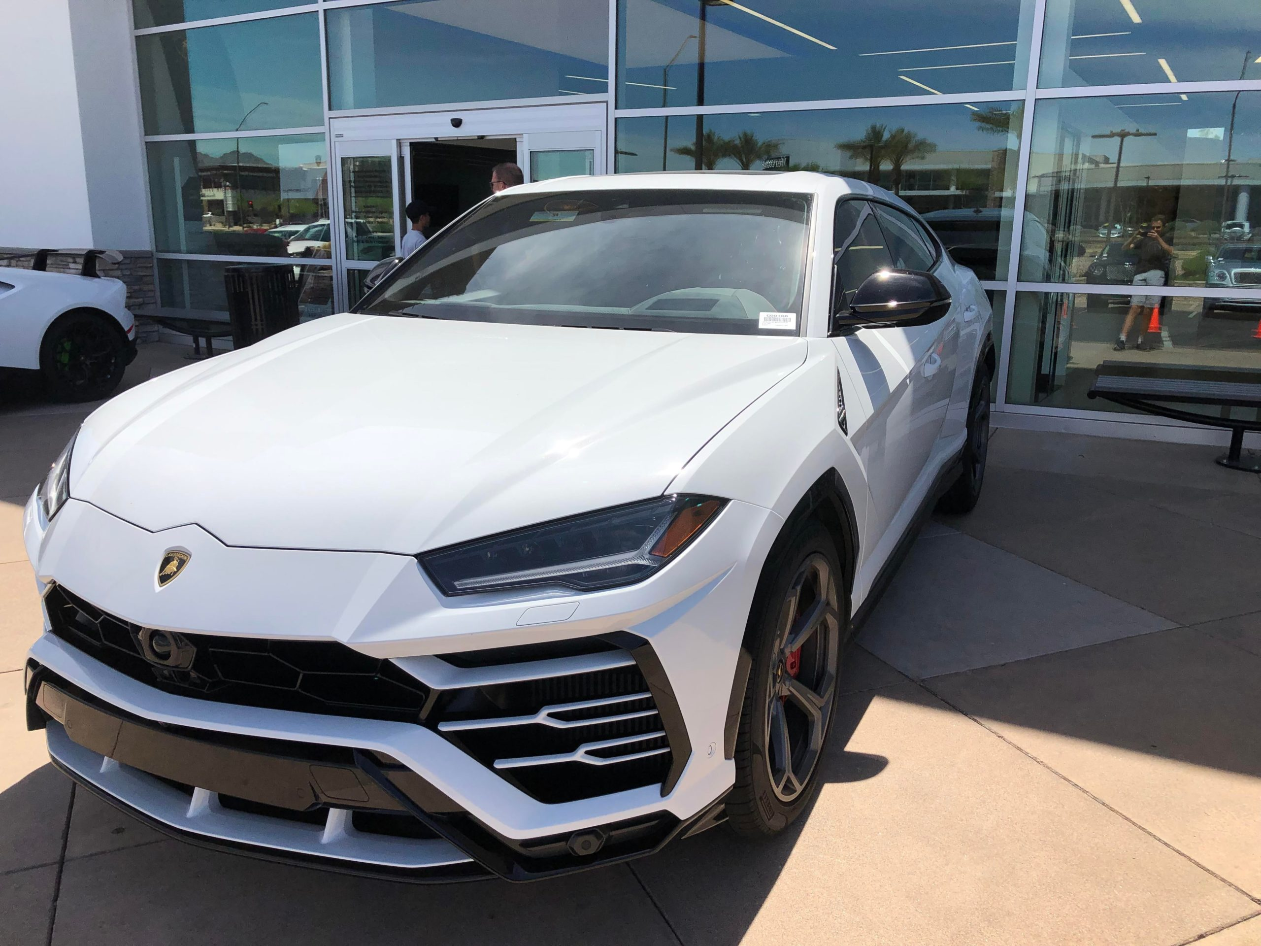 This Urus at my local dealership