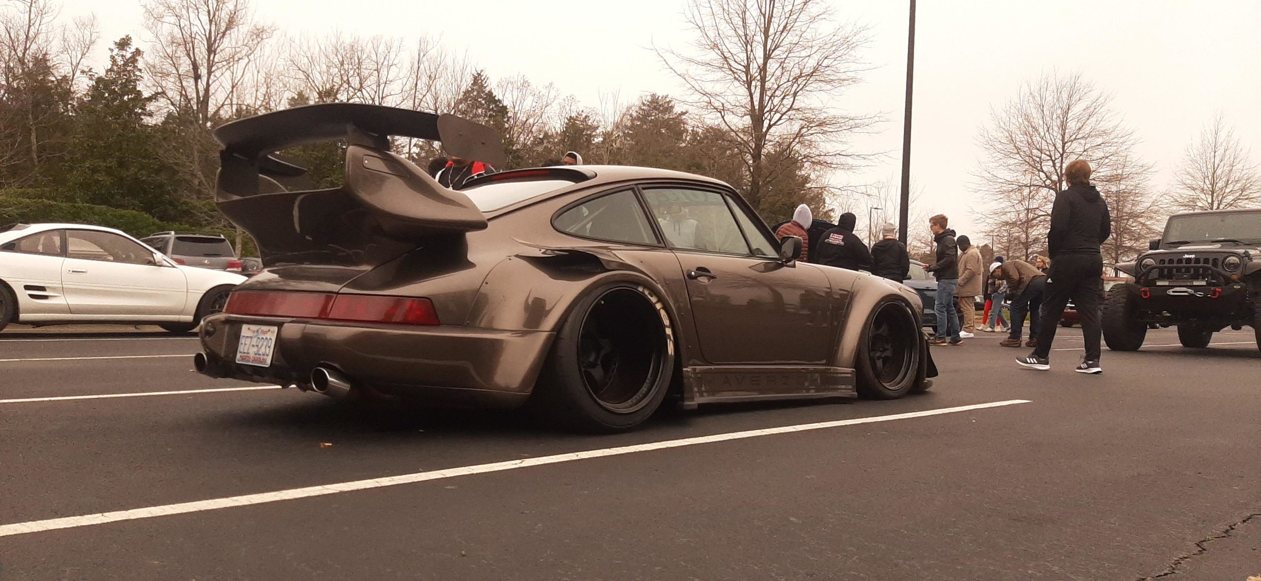 This beautiful RWB Porsche 911 at our Cars and Coffee this morning