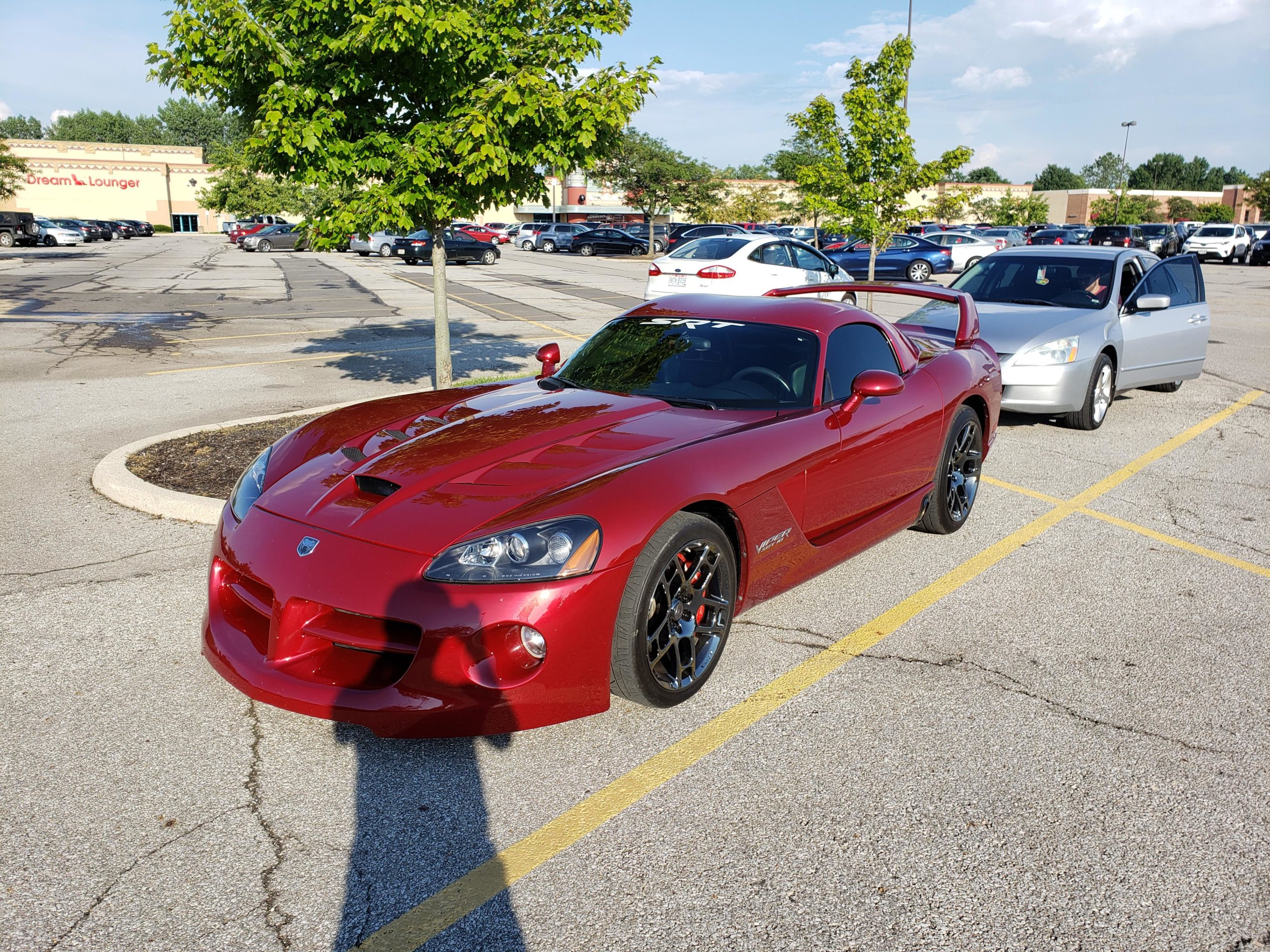 Spotted a viper out in the wild