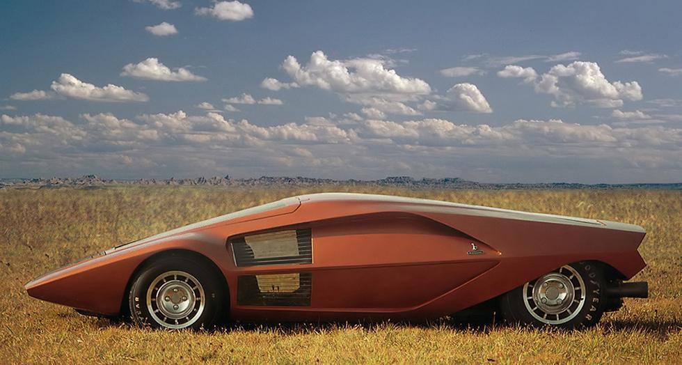 Lancia Stratos Zero Prototype