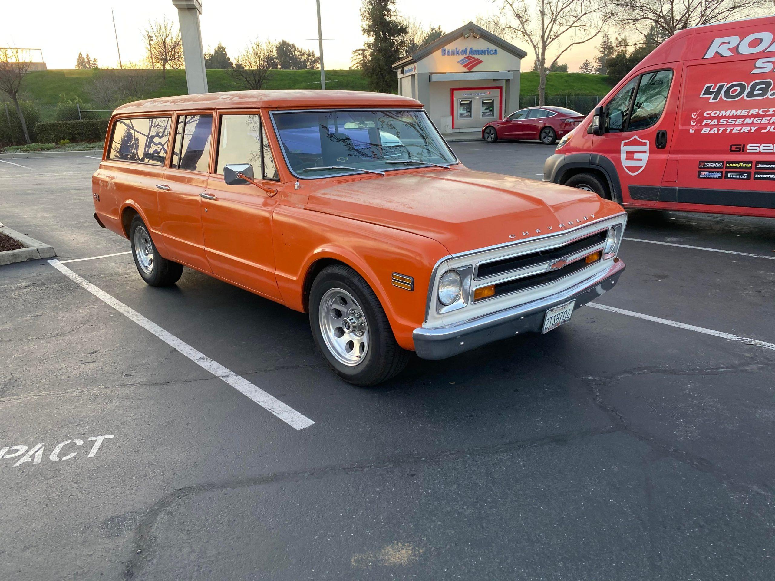 Any love 70's Chevy Suburban ?