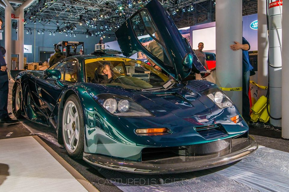 Just got to spend a few moments alone sitting inside the McLaren F1 XP GT LongTail at NYIAS…