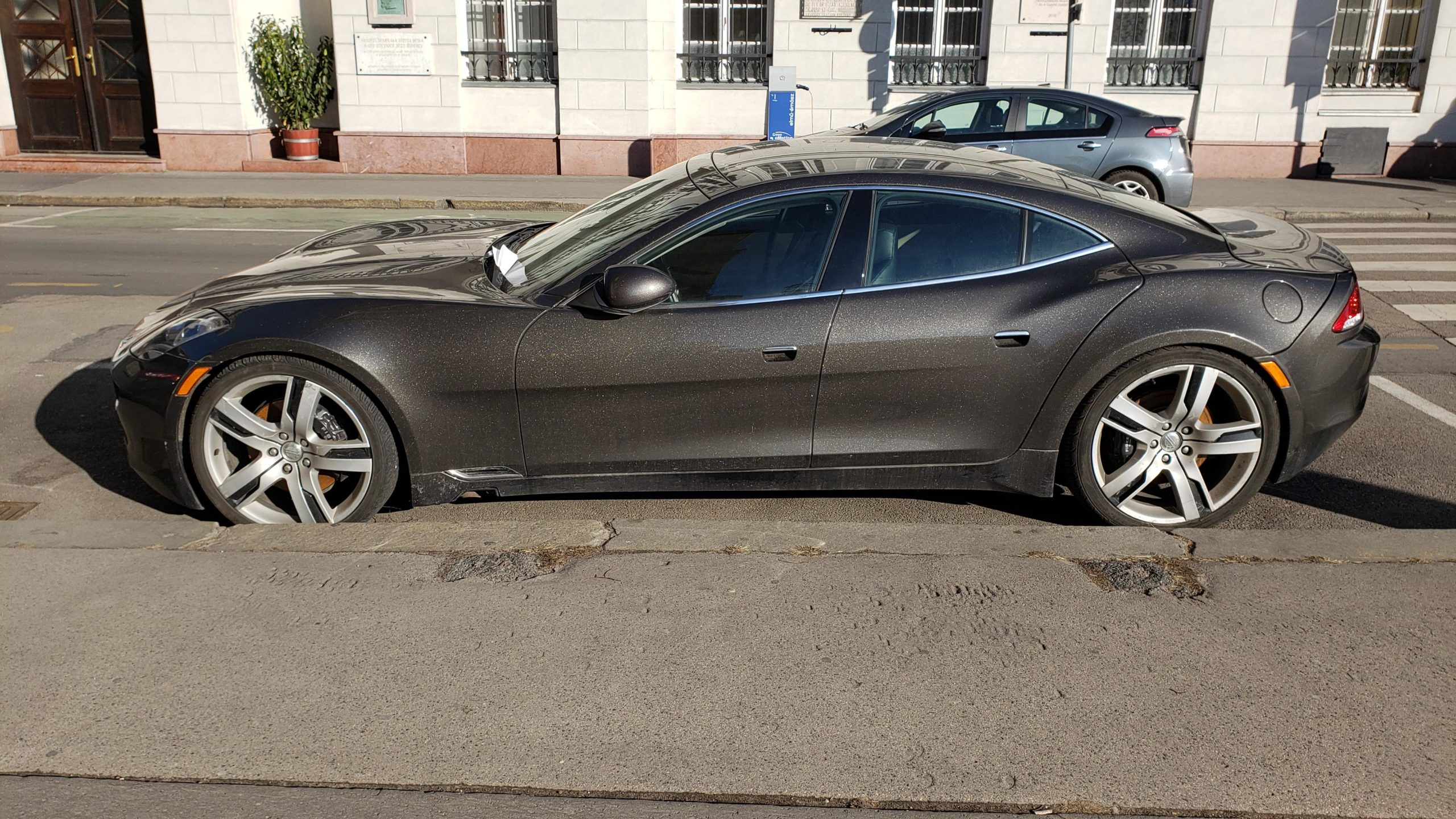 Fisker Karma spotted in Bucharest today…