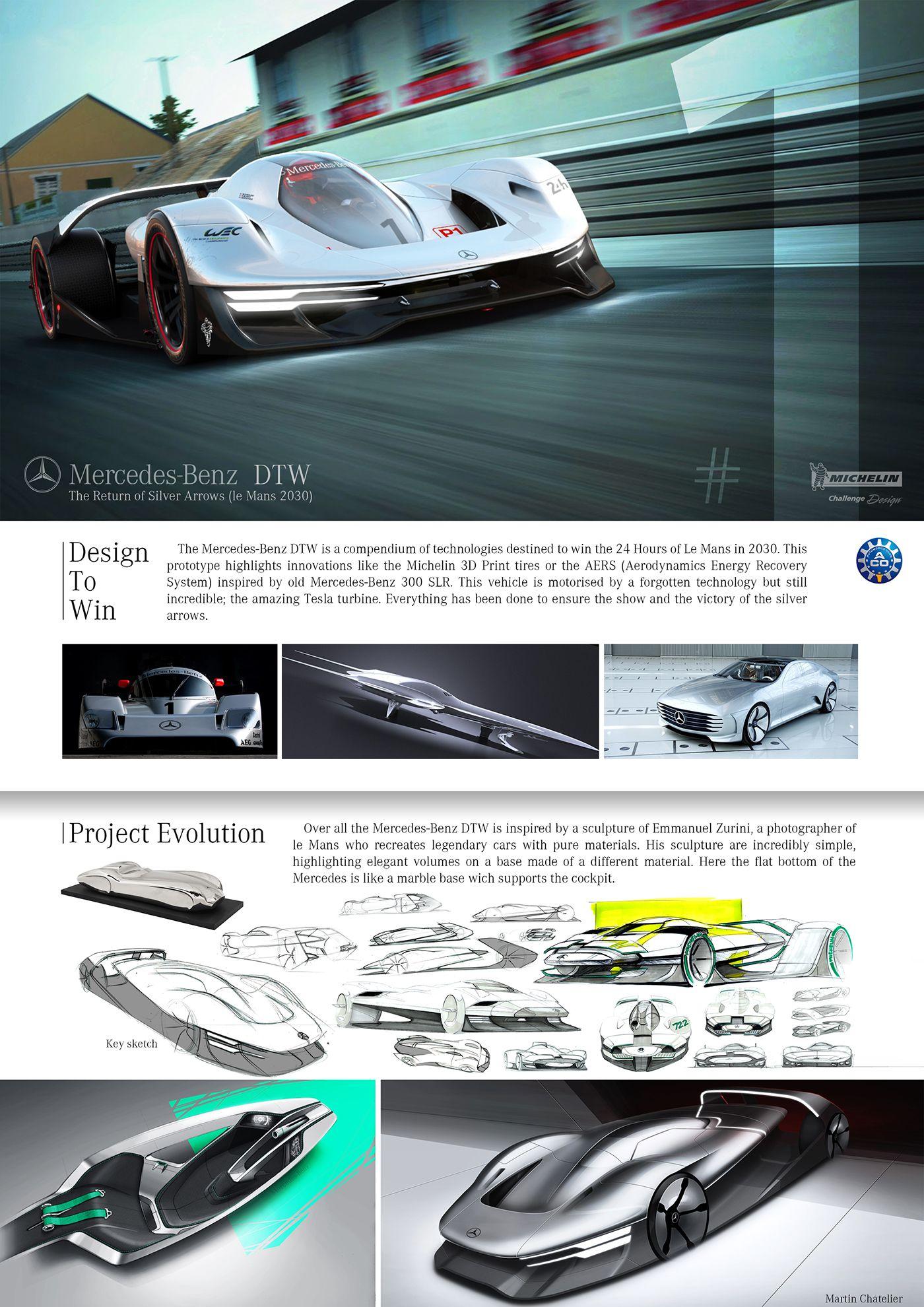 Mercedes-Benz DTW (le Mans 2030)