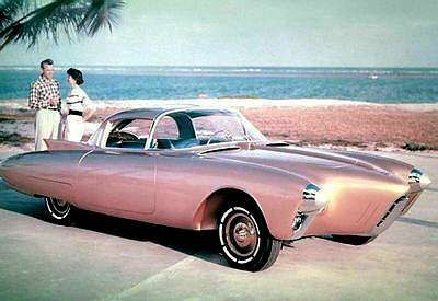 1956 #Oldsmobile Golden Rocket #concept car