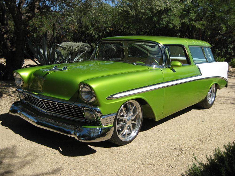 1956 CHEVROLET NOMAD CUSTOM WAGON – Barrett-Jackson Auction Company – World's Greatest Collector Car Auctions