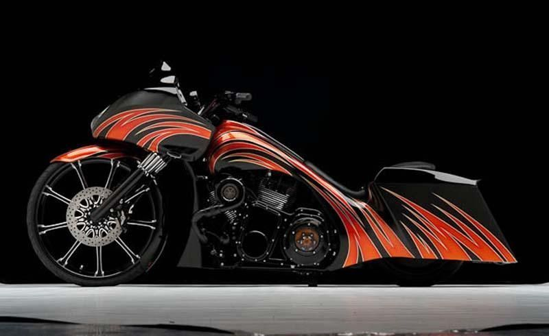 2010 Harley-Davidson Touring FLHRX Custom Road Glide is creative inspiration for…