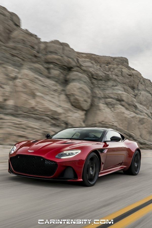Red 2019 Aston Martin DBS Superleggera #astonmartin