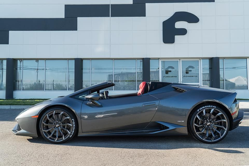 Lamborghini Huracan Spyder by Forgiato Wheels – Motorward More