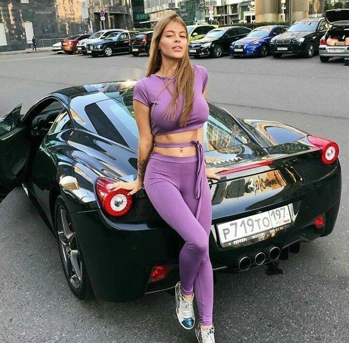 Ferrari girl