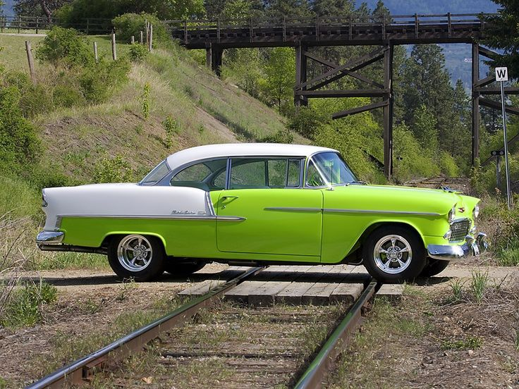 1955 Chevrolet Bel Air—I am a bit worried about that beauty being parked on th…