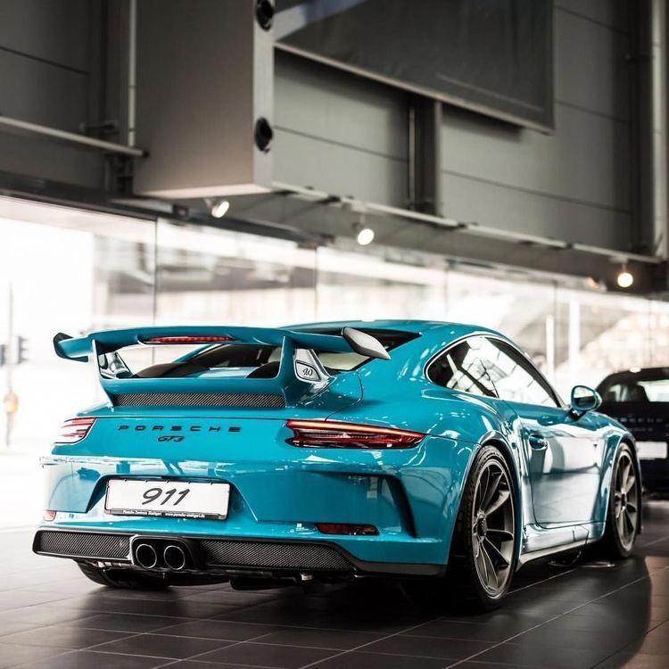 911 GT3 #porschegt3rs2018
