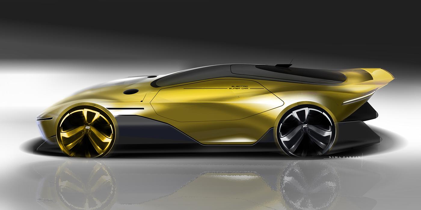 Car rendering!