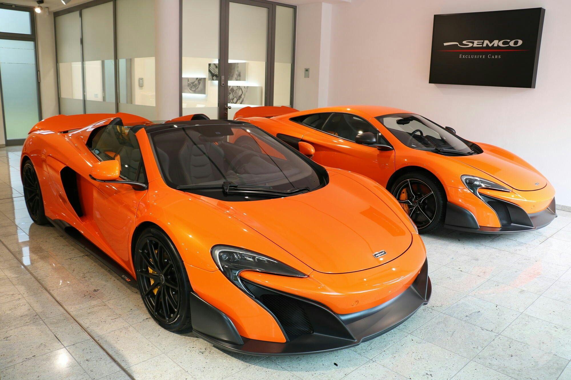 Awesome McLaren 675LT and 675 LT Spyder