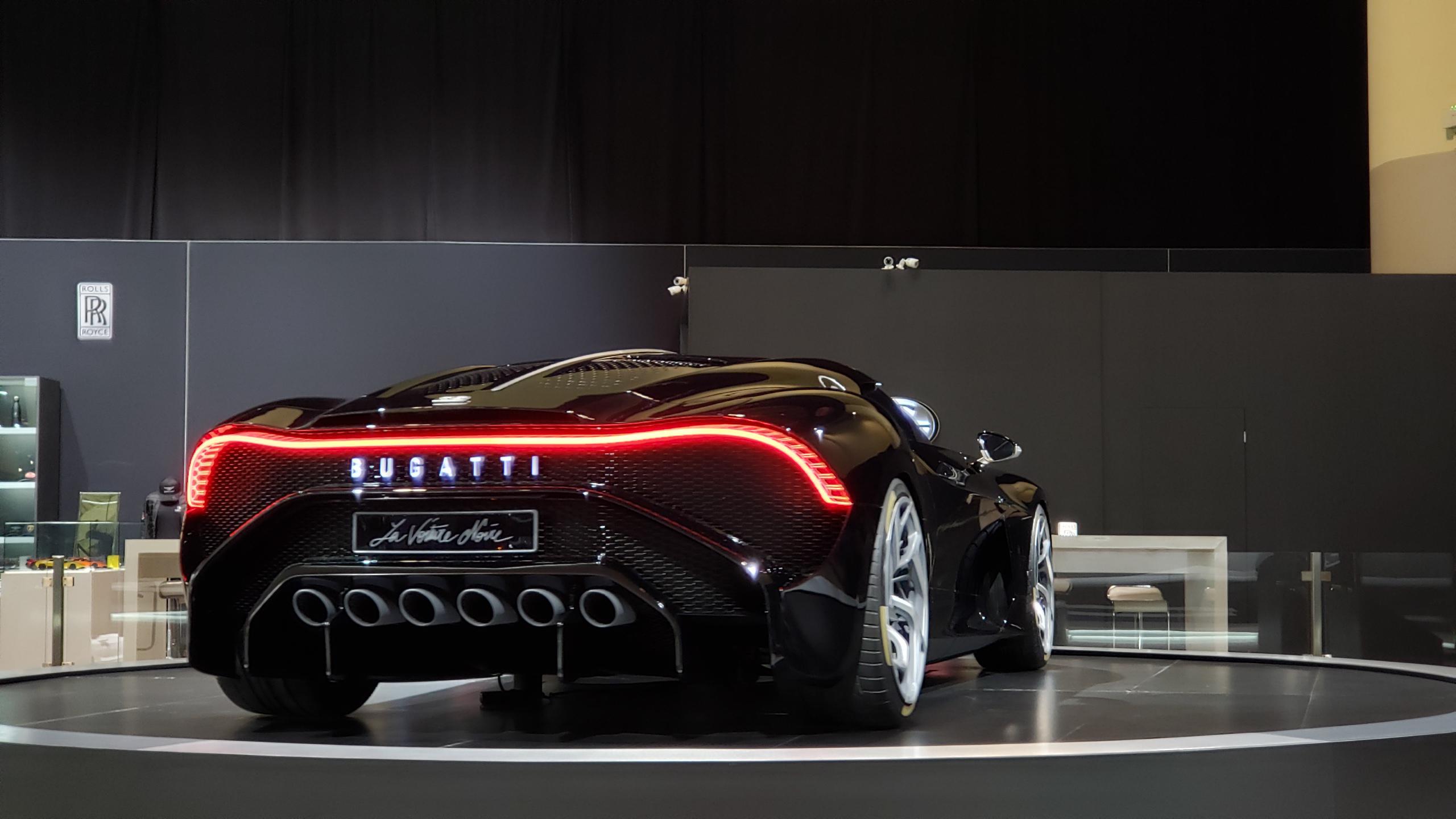Bugatti La Voiture Noire – 2020 Toronto Auto Show