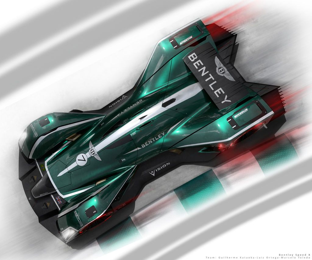 Bentley Speed X – LMP1 12