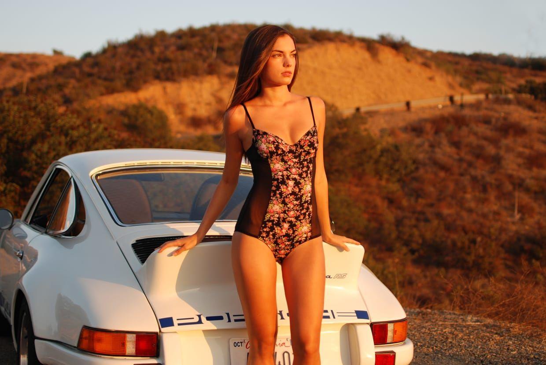 15 Photos Of A Sexy Porsche And Even Sexier Model