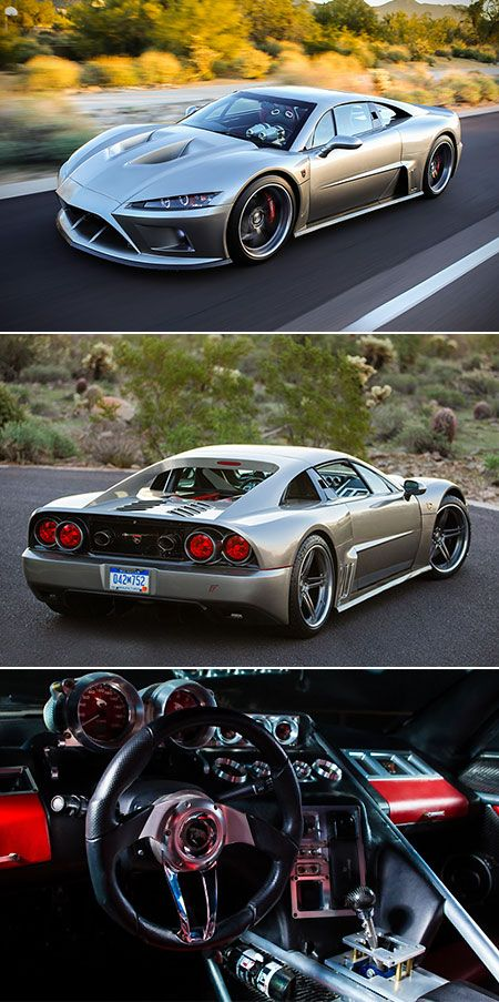 Falcon F7 is American Supercar Powered by 1100HP V8 Engine, Touted as Ferrari Fi…