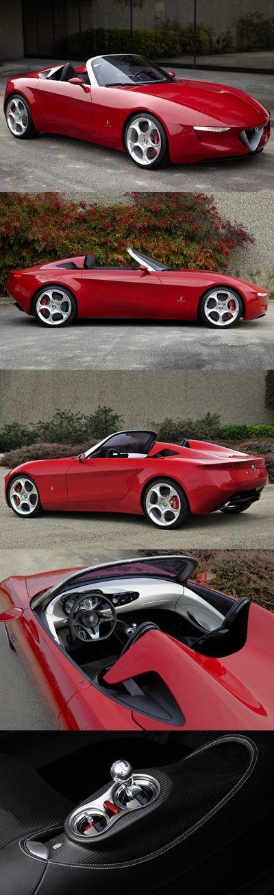 a?? Alfa Romeo 2uettottanta concept car by Pininfarina